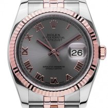 Rolex Datejust Stahl Roségold Everose Automatik Armband Jubilé...