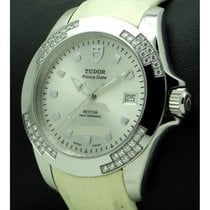 Tudor | Prince Date Lady, Stainless Steel and diamonds