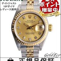 Rolex 【ロレックス】デイトジャスト レディース腕時計69173G 10Pダイヤ 自動巻きAT ステンレス×イエローゴー...