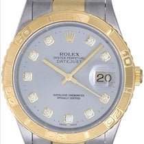 Rolex 2-Tone Turnograph Men's Steel & Gold Watch Steel...