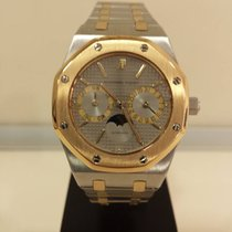 Audemars Piguet Royal Oak Day-Date Monphase Stahl steel Gold