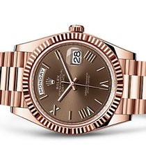 Rolex Day-Date 40 choco dial Unworn 22800e export price