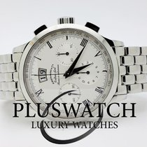 Eberhard & Co. Extra Fort  White Dial Roue A Colonnes...