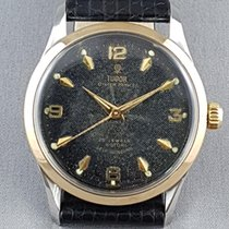 Tudor Oyster Prince II.59 bi-metal steel and gold honeycomb dial