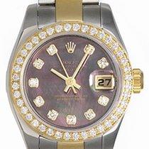 Rolex Ladies Rolex 2-tone Datejust Pre-owned Watch 179173