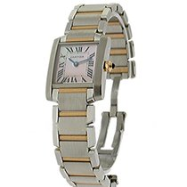 Cartier W51027Q4 Tank Francaise - Small Size in Steel - on...