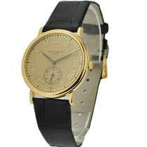 Patek Philippe 5022J 5022 Yellow Gold Calatrava - on Strap...