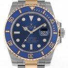 Ρολεξ (Rolex) Submariner Date Stahl Gelbgold Keramik Blau...
