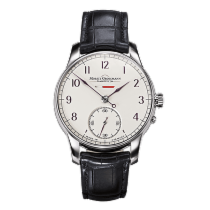 Moritz Grossmann BENU Power Reserve, white gold