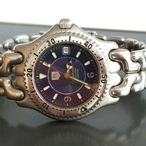 TAG Heuer Steel TAG Heuer Chronometer 200m Automatic 37mm