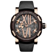 RJ-Romain Jerome Steampunk Red Gold Auto