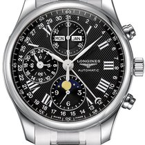 Longines Master Complications L2.773.4.51.6 Stainless Steel...