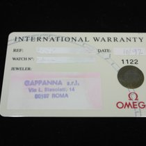 Omega vintage warranty card  for speedmaster  or all models