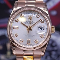 Rolex Oyster Perpetual Day-date President 18k Rose Gold...