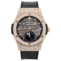 Hublot Classic Fusion Moonphase King Gold Pave 42 mm
