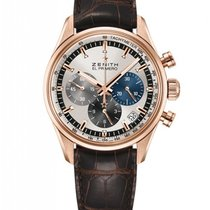 Zenith Chronomaster El Primero 18K Rose Gold Men's Watch