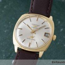 Longines Ultra-chron 18k Gold Automatik Herrenuhr Ref. 8357-3