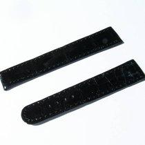 Breitling Chopard Croco Armband Band Strap Schwarz Black 16 Mm...