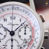 Longines Heritage Tachymeter Chronograph 41mm Steel Arabic ...