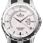 Edox Grand Ocean Day Date Steel Black Diverband 45 mm (2014)