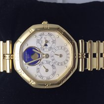 Gérald Genta maxi time perpetual calendar Moon phase with Leap...
