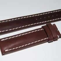 Breitling Kalbslederband für Dornschliesse Dunkelbraun 22-20 mm