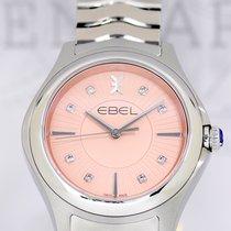 Ebel Wave Grande rosé Diamond Dial Steel NEU B+P 35mm