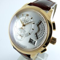 Glashütte Original Pano Retro Graph  Rosegold   - Mint -