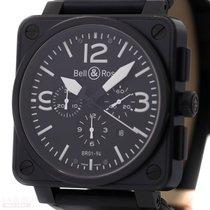 Bell & Ross Chronograph BR01-94 Stainless Steel Black DLC...