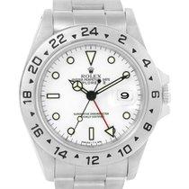 롤렉스 (Rolex) Explorer Ii White Dial Steel Automatic Mens Watch...