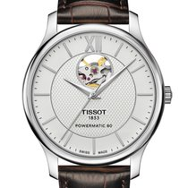 Tissot T-Classic Tradition T06390716038 Powermatic80 Men's...