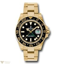 Rolex Oyster Perpetual Date GMT-Master II 18K Yellow Gold...