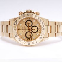 Rolex Daytona Zenith 16528 Gold Diamonds