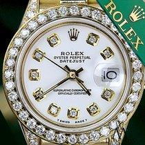 Rolex Original Rolex Presidential 18kt Gold White Diamond Dial...