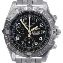 Breitling A13353 Blackbird Stainless Steel Chronograph Watch