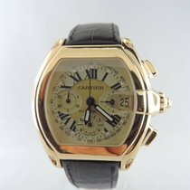 Cartier 18K Gold Roadster Chronograph W62021Y3