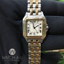 Cartier Panthère 1100 / W1588MEE 27mm 18k/steel Womens Luxury...