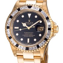 Rolex Submariner Custom Diamonds 16618