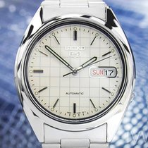 Seiko 5 Automatic Vintage 7S26 With See Through Back St Steel...