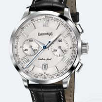 Eberhard & Co. EXTRA-FORT GRANDE TAILLE Chrono Steel-Black...