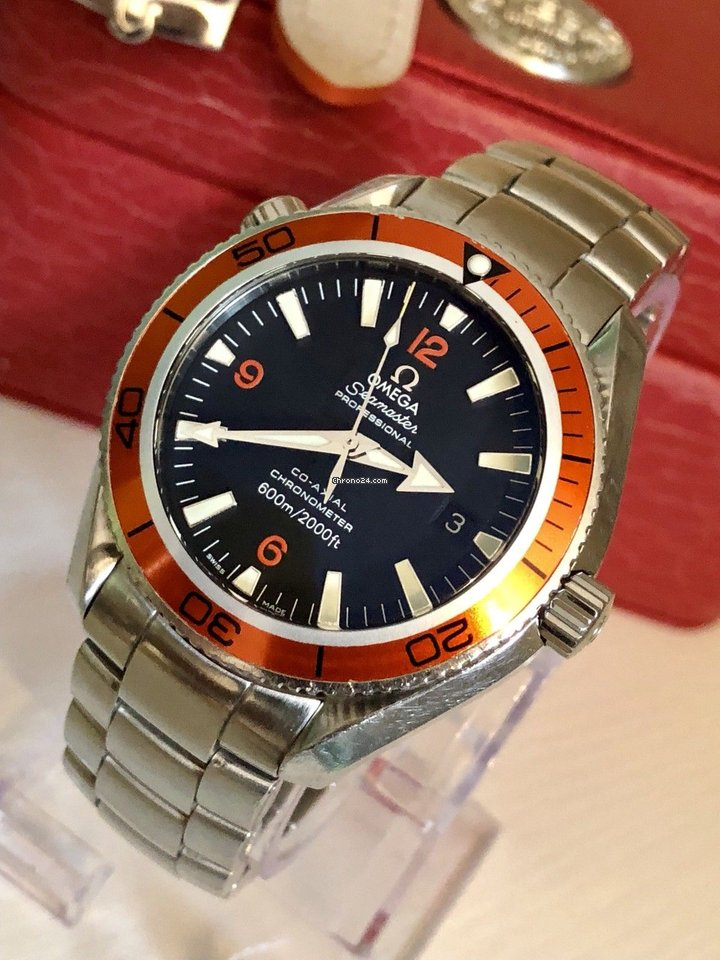 Omega Seamaster Planet Ocean 42 Co-Axial 600m mens watch za Kč 72 679 k  prodeji od Trusted Seller na Chrono24 03a659ad3be