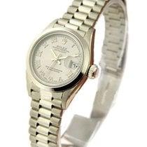 Rolex Used 79166 Ladys Platinum PRESIDENT - Circa 2000 -...