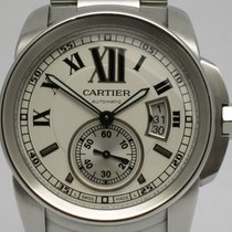 """Cartier """"Calibre de Cartier Automatic"""" Large model steel"""