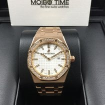 Audemars Piguet 67651OR Royal Oak Lady White Quartz 33mm 18K...