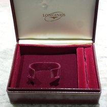 Longines vintage watch box big size burgundy