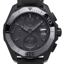TAG Heuer Aquaracer 300M Calibre 16 Auto Chrono 43mm Black...
