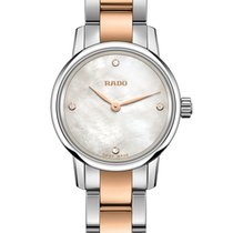 Rado Ladies R22890942 Coupole Classic Pearl Diamonds Watch