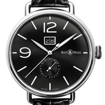 伯莱士 (Bell & Ross) Vintage WW1 WW1-90 Grande Date and...