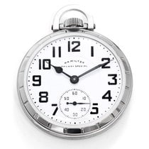 Hamilton Stainless Steel Railway Special Pocket Watch