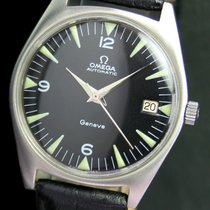 Omega Seamaster Geneve Automatic Date Steel Mens Watch